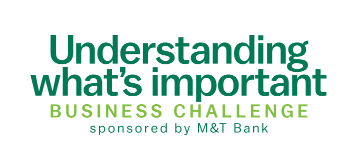 Understanding what's important Business Challenge, sponsored by M&T Bank